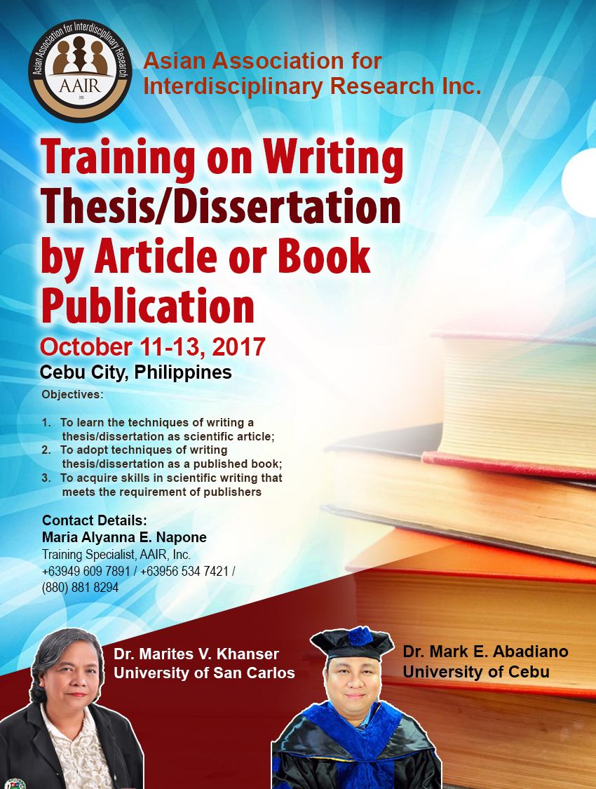 Thesis writer in cebu